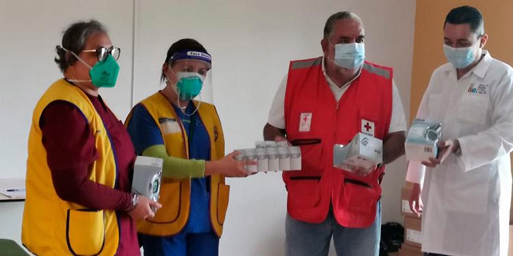 Entregan 100 glucómetros y 30 mil pruebas para glucosa a varias instituciones en Siguatepeque