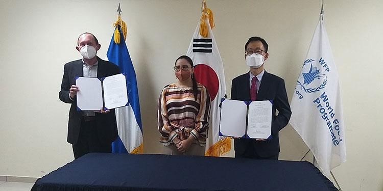 Corea del Sur entrega importante donativo a PMA para atender damnificados de Eta e Iota