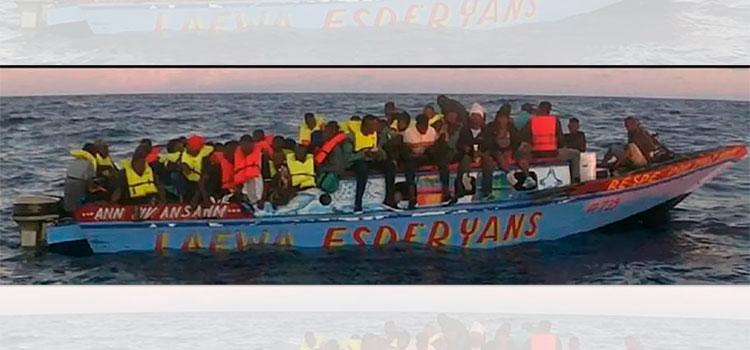 EEUU deporta a 110 inmigrantes haitianos interceptados en el Caribe - Diario La Tribuna