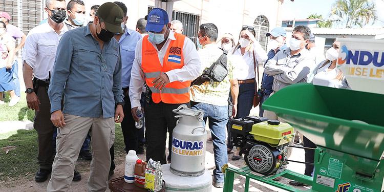 """""""Honduras se Levanta"""" para reactivar economía"""