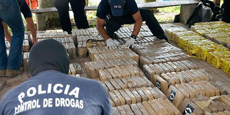 Honduras decomisa más de 4,5 toneladas de drogas en 2020, la mayoría cocaína