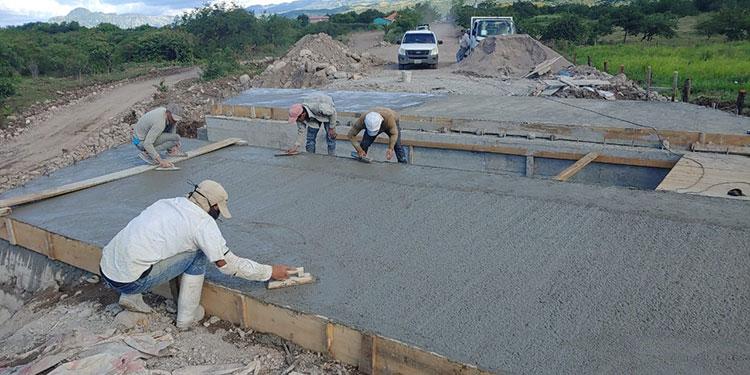 Insep presenta avances en proyecto de pavimentación entre Orocuina y Apacilagua