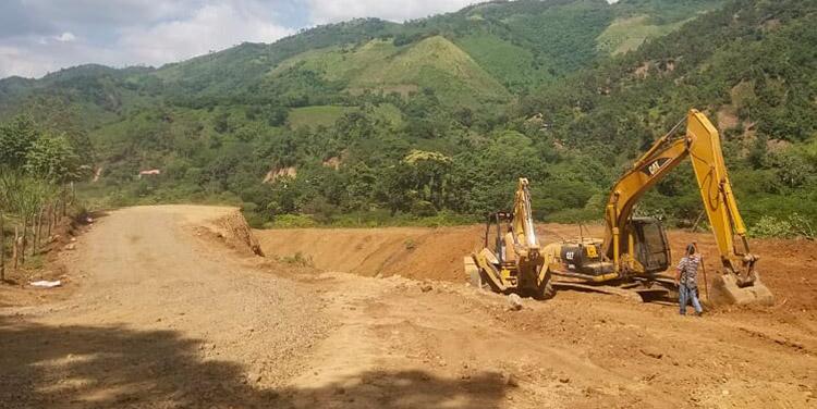 INSEP avanza en la rehabilitación de infraestructura vial en 6 departamentos