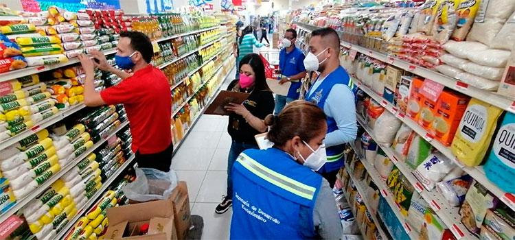 MP inspecciona comercios para garantizar los derechos a los consumidores