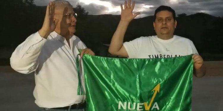 Nueva Ruta juramenta a su candidato a alcalde de Comayagua