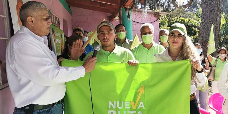 Nueva Ruta tiene candidato a la alcaldía por Tatumbla