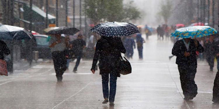 Frente frío deja lluvias y piden precaución a la población
