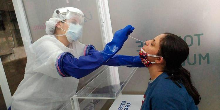En más de 800 pruebas de antígeno aplicadas en Cortés registra un 33% de positividad