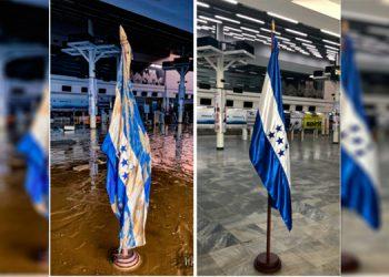 Pabellón Nacional engalana un resplandecido aeropuerto 'Villeda Morales'