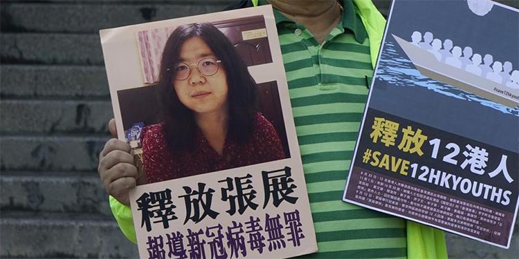 Cuatro años de prisión para la periodista china que cubrió la epidemia en Wuhan