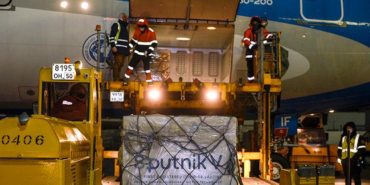 Sputnik V llega Argentina