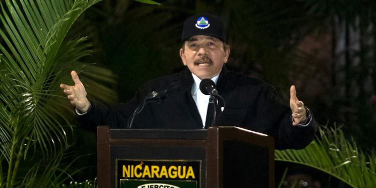 Presidente Daniel Ortega acusa a EE. UU. de terrorismo