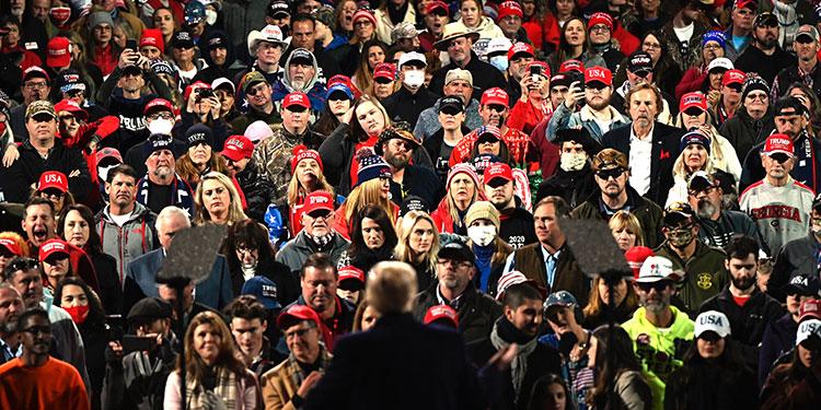 Partidarios de Trump realizarán última protesta