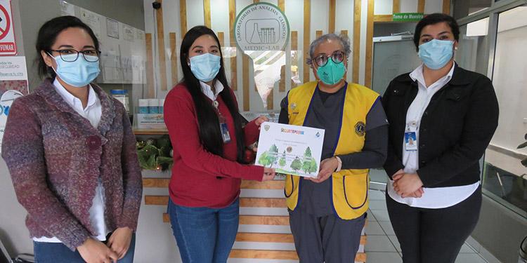 Reconocen labor de instituciones en actividades de reforestación