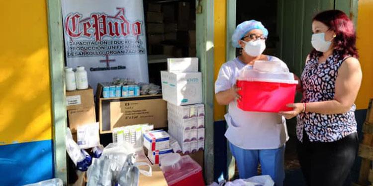 La clínica del Materno Infantil recibió una donación de parte de CEPUDO.