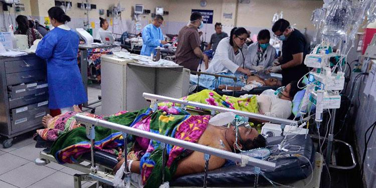 Colapsado el ingreso de pacientes por COVID-19 en el Hospital El Tórax