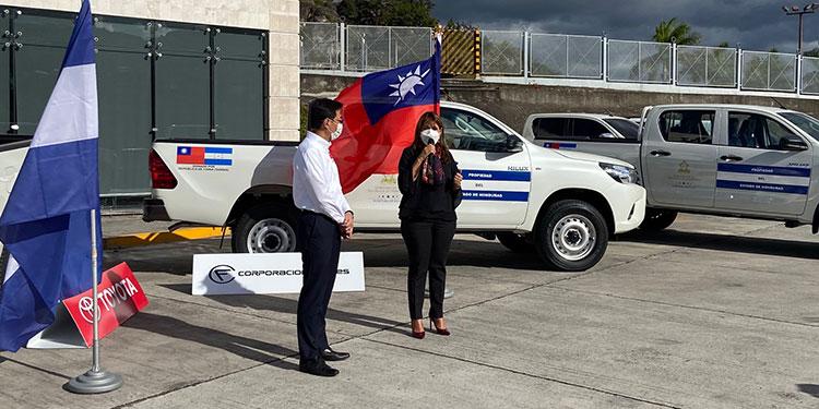 Esta donación corresponde a la ayuda humanitaria que ofrece Taiwán en apoyo a los efectos de la COVID-19 en el país.