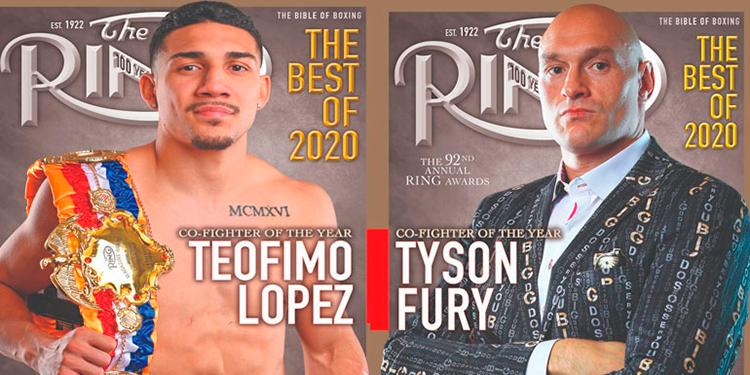 Teófimo López y Tyson Fury los mejores boxeadores del año según The Ring