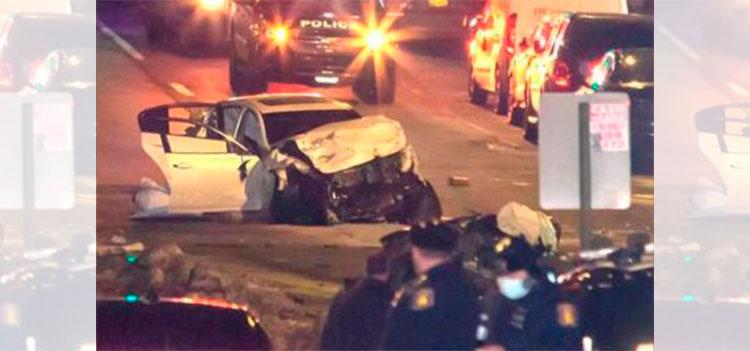 Cinco muertos en accidente vial en Nueva York