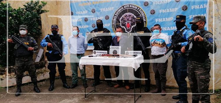 """Capturan a banda criminal """"Los Vásquez"""" en Comayagua"""