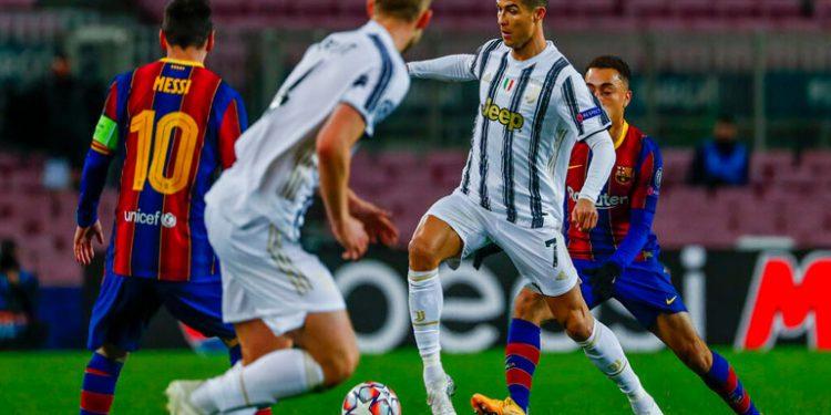 CR-7 ganó duelo a Messi en victoria de la Juventus al Barcelona