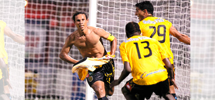 """Con gol de brasileño Douglas Caetano, Real España campeón en """"Apertura 2010-2011"""""""