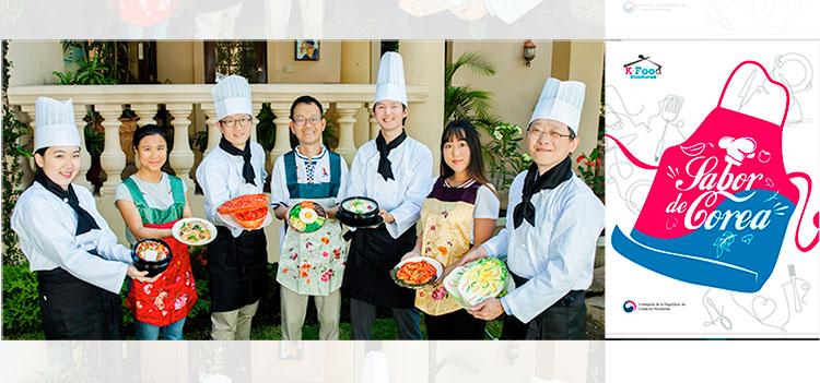 """Embajada de Corea presenta libro de recetas de comida """"Sabor de Corea"""""""