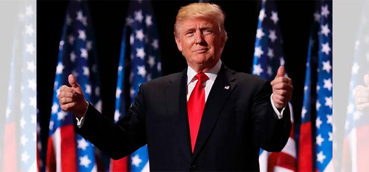 Trump adelanta que competiría en la elección del 2024