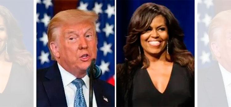 Trump y Michelle Obama, hombre y mujer más admirados en EEUU, según encuesta