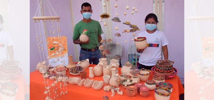 Expoferia navideña de artesanía Lenca en Tegucigalpa