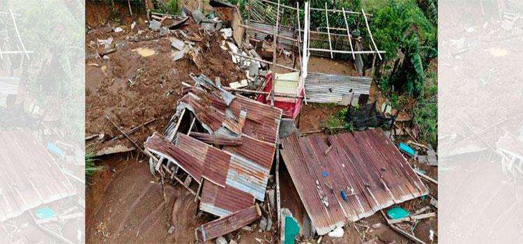 Se activa falla geológica en el municipio de Quimistán, Santa Bárbara