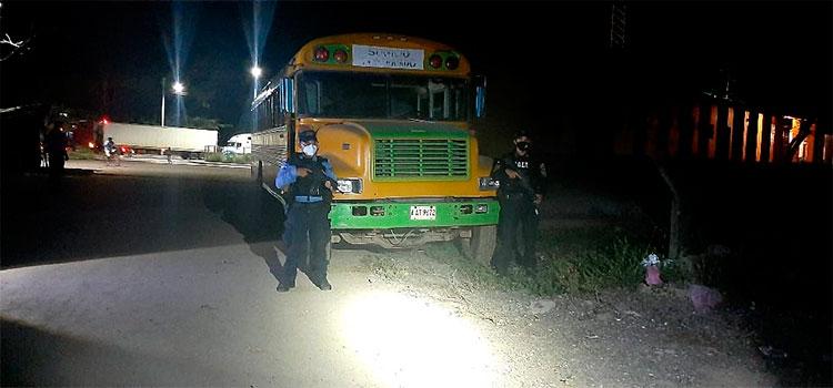 Detenido por tráfico ilegal de personas en Choluteca