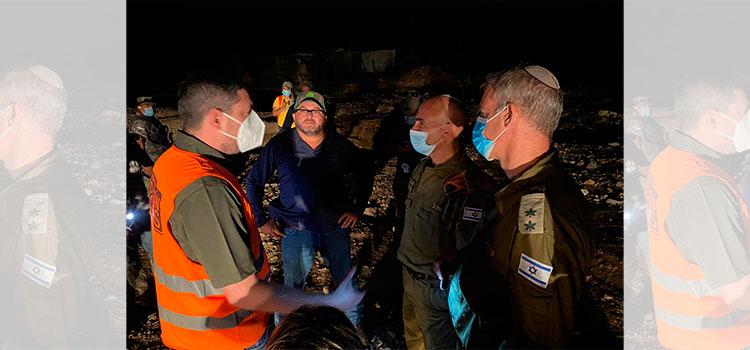 Llega ayuda humanitaria y delegación de Israel