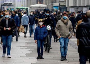 En Italia preocupan variantes del COVID-19 y aglomeraciones en las ciudades