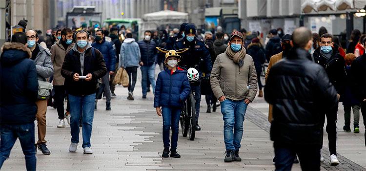Los muertos por coronavirus en Italia repuntan en 628 en el último día