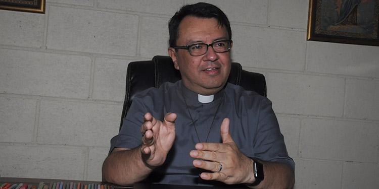 """Padre Juan Ángel López: """"el hecho que el Señor nos tenga con vida, es un signo de esperanza"""""""