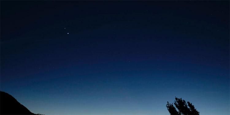 Júpiter y Saturno registran mayor acercamiento en siglos.