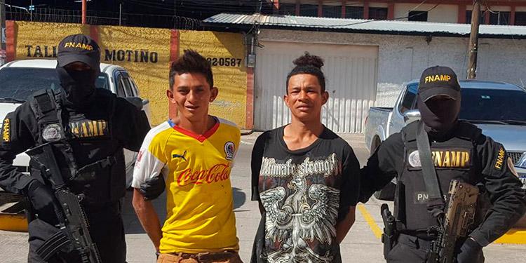 Distribuidores de drogas son detenidos por FNAMP
