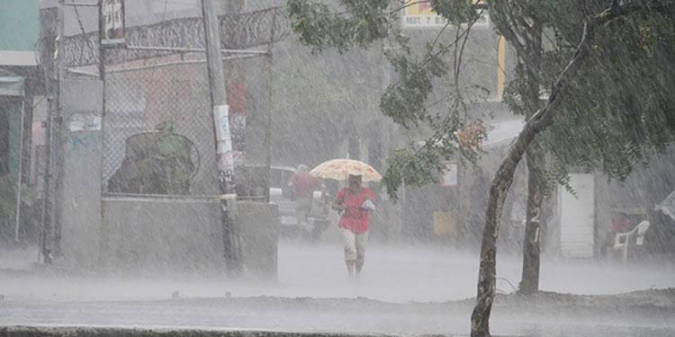 Cuña de alta presión trae hoy lluvias y chubascos