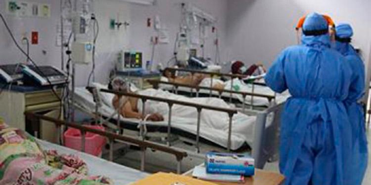 Hospital Tórax reporta el 100% de su ocupación en salas COVID-19