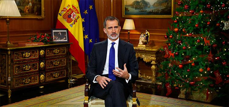 El mensaje de Navidad de Felipe VI provoca respuestas dispares