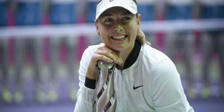 Maria Sharapova anunció que se casará con millonario británico