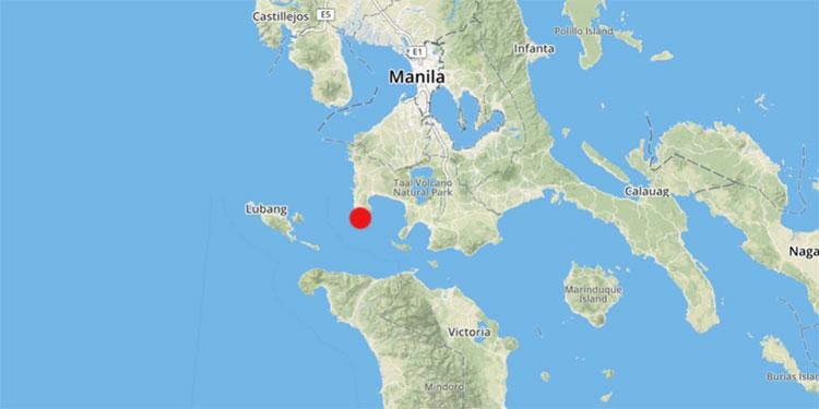 Sismo de magnitud 6,3 en Filipinas
