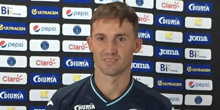 A Gonzalo Klusener se le venció el contrato con Motagua.