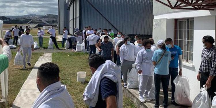 Unos 135 migrantes retornan hoy a Honduras
