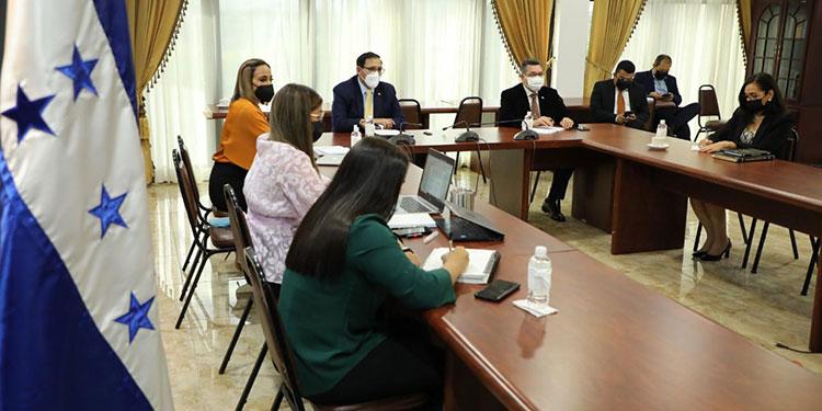 El embajador López Contreras resaltó el trabajo realizado para la culminación del reglamento de la Comisión y su respetiva reactivación.