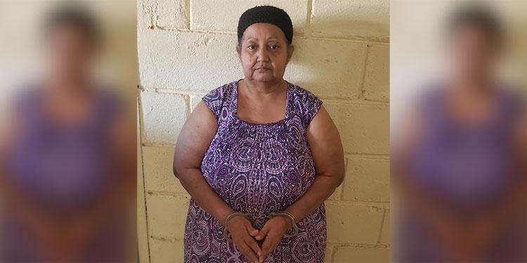 La mujer es acusada de haber delinquido en perjuicio de varias personas.