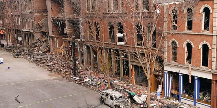FBI: Responsable de explosión en Nashville envió material a conocidos