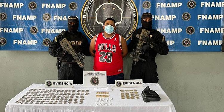 """Noé Leovigildo Madrid Núñez (23), alias """"El Black"""", continuará en La Tolva."""