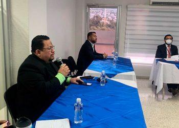 El titular de la Didadpol, Alan Edgardo Argeñal Pinto, presentó el Informe de Gestión Operativa 2020.
